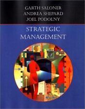 Strategic Management by Andrea J. Shepard, Joel Podolny and Garth Saloner (2001)