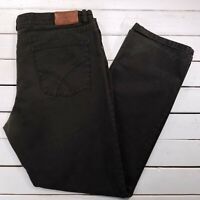 BRAX Feel Good Cooper Jeans Mens 42x33 Brown Mid Rise Straight Leg J108
