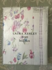 Brand New Laura Ashley Sweet Pea Heather Floral King Size Duvet & 2 Pillowcase