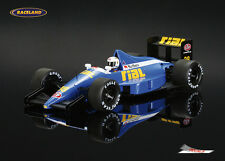 Rial ARC2 Cosworth V8 F1 GP Brasilien 1989 Christian Danner Spark Model 1:43 NEW