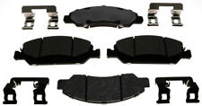 Disc Brake Pad Set-Ceramic Disc Brake Pad Front ACDelco Pro Brakes 17D1363ACH
