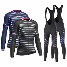 """FDX Women's """"Limited Edition"""" Cycling Bib Tights + Thermal Cycling Jersey Combo"""