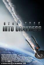 STAR TREK INTO DARKNESS - Movie Poster Flyer - 11X17 - FINAL - CHRIS PINE
