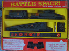 Vintage Tri-ang Hornby Battle Space! Rail Based Combat Unit - RARE! - WORKING!