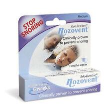 ツ BIOREVIVE NOZOVENT MEDIUM SIZE DEVICE CLINICALLY PROVEN TO PREVENT SNORING