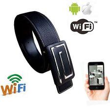 wireless WIFI IP SPY cam hidden camera video DVR recorder IN Real wearable belt