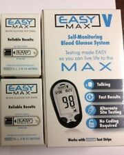 EASYMax Blood Glucose 100 Test Strips Plus Fee Meter Exp: 03/2019