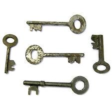 5 Vintage Skeleton Keys Old Rusty Iron Antique Keys RANDOM PICKS Free USA Ship!