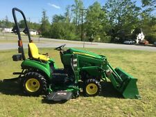 Very Nice John Deere 1023E 4X4 Loader Mower Tractor with Only 173 Hours