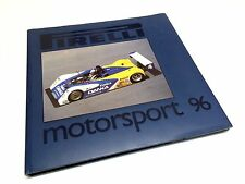 Pirelli Motorsport 96 By Roberto Boccafogli ©1996 Hardcover Book Brochure
