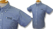GINGHAM SHIRT CASUALS TARGET BLUE WHITE SIZE XL
