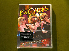 BLONDIE DEBORAH HARRY LIVE BY REQUEST CONCERT MANHATTAN 2004 DVD REGION 2-6 New