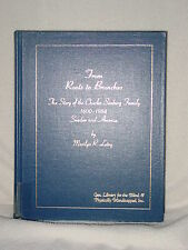 Charles Seaburg Hilda Molander Family Sweden Chicago Illinois Genealogy Books