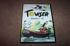 TOWSER  EPISODES 1-10     ITV 1982    DVD   BRAND NEW!  ROY KINNEAR