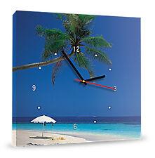 FotoQuadro in Tela Canvas cm40x40 con orologio, foto o logo aziendale o entrambi