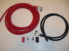 Heavy Gauge Battery Relocation Kit, Cable Wire Harness Kit 2Awg Weld Cable