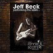 Performing This Week...Live At Ronnie Scott's, Jeff Beck CD   5034504139626   Ne