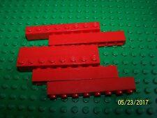 Lego 1x8 Brick Qty 6 (3008) - Pick your color