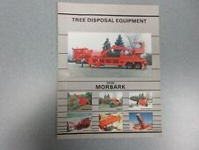 Morbark Tree Disposal Equipment Sales Brochure 12 Pages