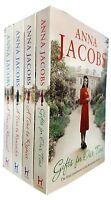 Anna Jacobs Rivenshaw Saga series 4 Books Collection Set A Time to Rejoice NEW