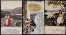 More details for ww1 a little bit of heaven bamforth song cards set of 3 no 4883/1/2/3