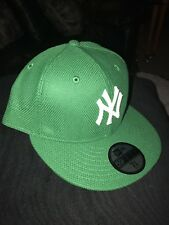 New York Yankees 16 St. Patrick's Day Green New Era 59Fifty Fitted Hat Cap 7 3/8