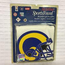 NEW McArthur SportsTowel RAMS Football Golf, Bowling or Tennis w/Hook 1996 VTG