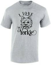 I Love my Yorkie T-shirt Dog Pet Best Friend Unisex Adult Kids Top SM - XXXL