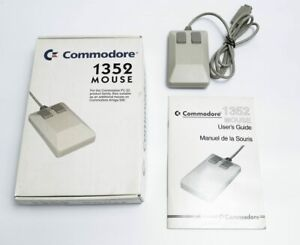 Commodore Amiga 1352 Mouse Boxed with Manual