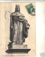 13 - cpa - AIX EN PROVENCE - La statue du Roi René ( i 309)