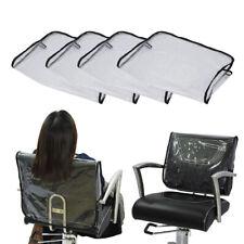 4pcs Barber Chair Back Covers Hair Salon Beauty Professional PVC Vinyl Cover