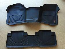 WeatherTech Over-The-Hump FloorLiner -Chevy Silverado Ext Cab - 2008-2013-Black