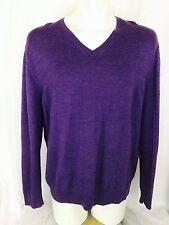Calvin Klein Extra Fine Merino Wool V-Neck XXL Sweater