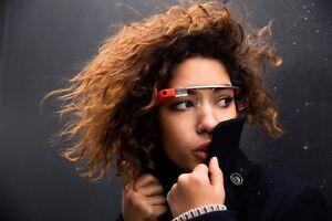 NEW Google Glass V2.0 Explorer Edition Tangerine Glasses - FREE FRAME OR SHADES