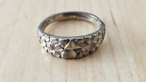 STERLING SILVER 925 RING, Size 6 -- 3.5 grams, Made in USA