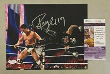 REY MYSTERIO Oscar Gutierrez Signed 8x10 Photo Autographed JSA COA WWE