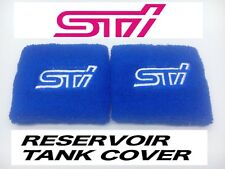 JDM STI BLUE RESERVOIR OIL TANK COVER SOCK FOR SUBARU BRZ IMPREZA WRX FORESTER