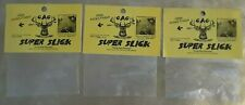 """(3) Gibbs Archery Gear Super Slick """"Prong Rest Silencers"""" New/Sealed *Free Ship*"""