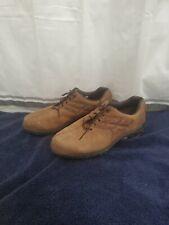 Men's Footjoy Shoes Size 9 1/2 M Contour Series Brown Leather