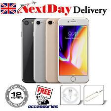 Apple iPhone 8 64GB 256GB Space Grey Silver Gold Unlocked SIM Free Smartphone UK