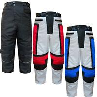 Mens Cordura Motorcycle Motorbike Trousers Pants Cargo S, M, L, XL, XXL