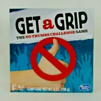 Get a Grip The No Thumbs Challenge Game Hasbro Ages 8+ Family Game Brand New