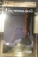 Hot!! The Walking Dead #193 SDCC Graded PGX Not CGC Or CBCS Signed By Kirkman!
