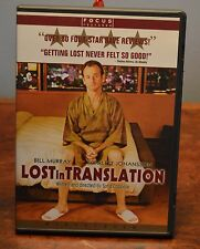Lost In Translation Dvd Bill Murray Scarlett Johansson