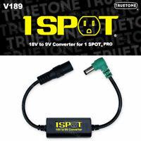 1-SPOT 18 Volt to 9 Volt Converter for Effect Pedal Power Truetone Visual Sound