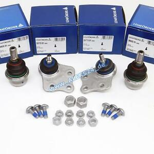 4x Lemförder Ball Joint Repair Kit L+R Upper+Lower For W211 S211 C219 R129