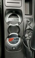 ford fiesta Mk 8 st line cup holder inserts set of two frozen white stline