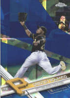 GREGORY POLANCO 2017 TOPPS CHROME SAPPHIRE EDITION #149 ONLY 250 MADE