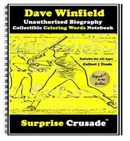 Dave Winfield Baseball Card Sports Trading Card Notebook AUTHOR AUTOGRAPH SET