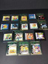 Lote Game Boy Color GB juegos a elegir  JP JAP